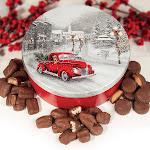 A. L. Schutzman 30 oz Holiday Milk Chocolate Assortment Tin