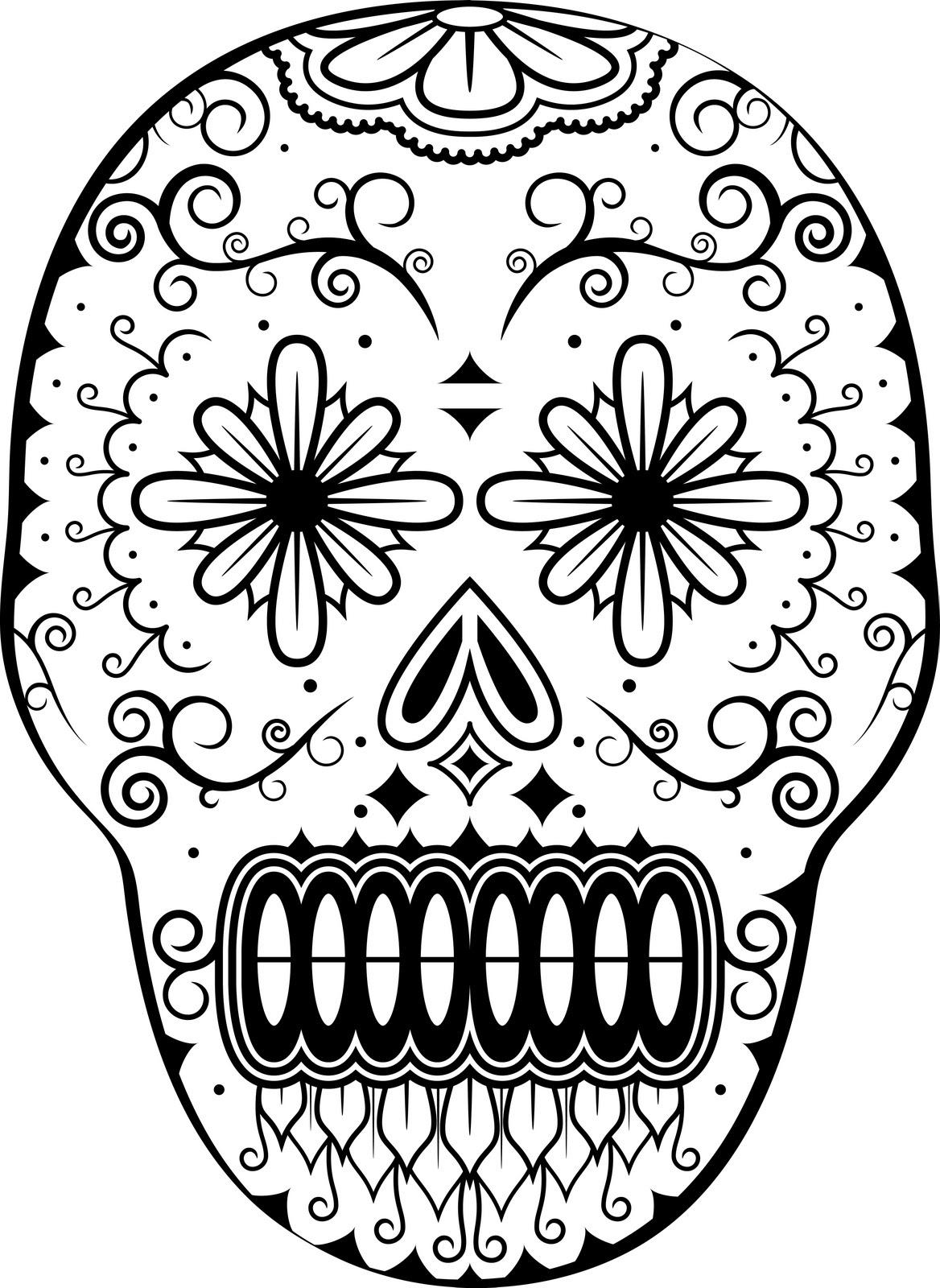 Calaveras Para Iluminar Dia Muertos Dibujos Calaberas Cool