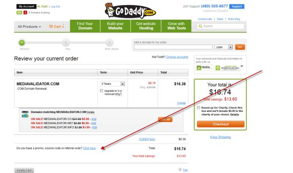 شرح شراء نطاق من جودادي ب 1.17 دولار فقط وربطه بمدونة بلوجر