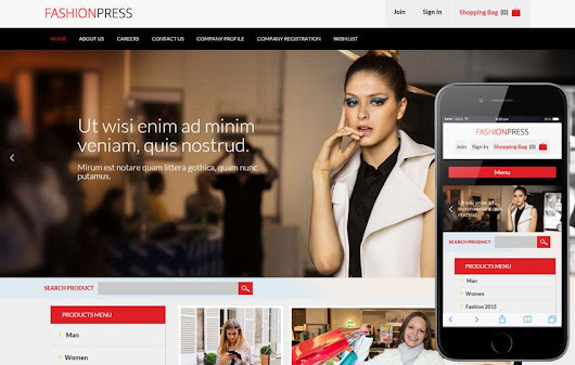 Fashion Press Flat Ecommerce Bootstrap Responsive Web Template by w3layouts