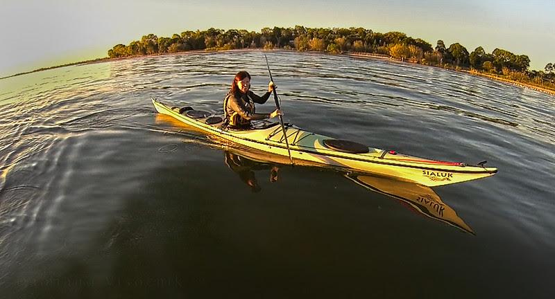 Sunset paddle_Bribie_c