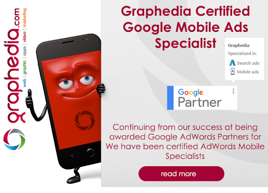 Graphedia have been certified AdWords Mobile specialists | Graphedia