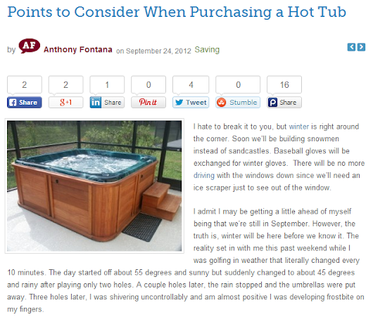 Important Things to Consider Before Buying Hot Tubs in Albuquerque