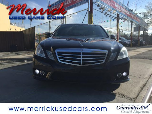Used 2010 Mercedes-Benz E-Class E350 Sedan 4MATIC for Sale in Springfield Gardens NY 11413 Merrick Used Cars Corp