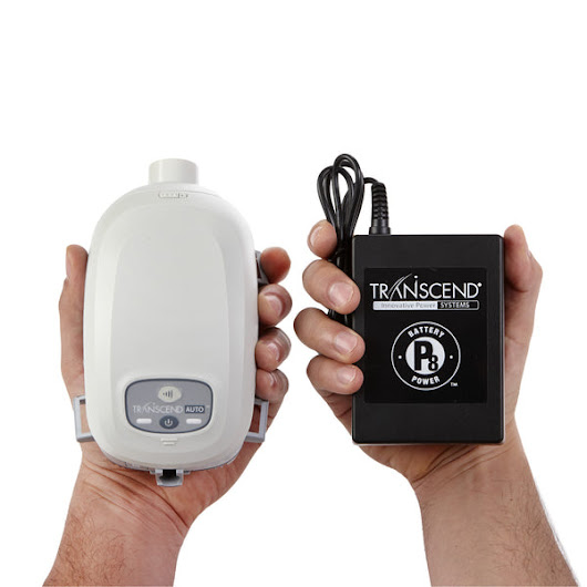 Transcend Auto™ Mini CPAP with Optional Humidifier & Battery