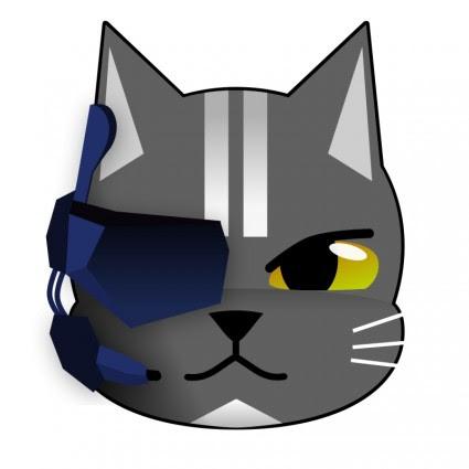 Gambar Kucing Vektor godean.web.id