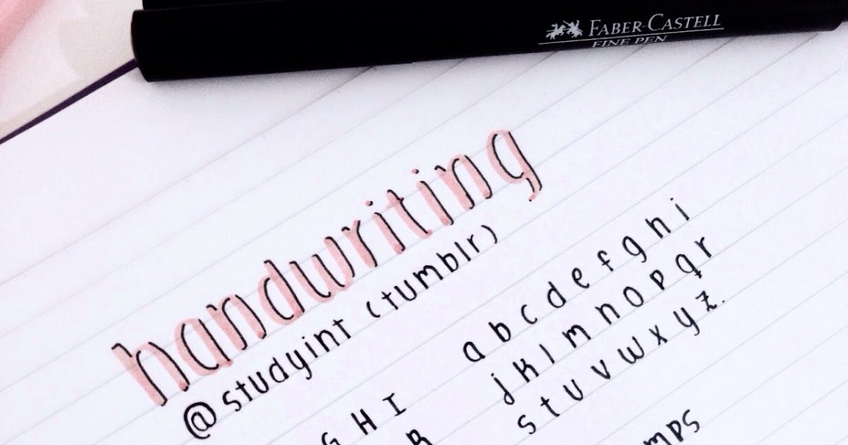 Aesthetic Calligraphy Fonts For Notes | aesthetic elegants