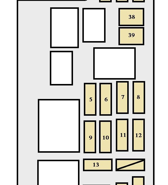 98 Camry Fuse Box Diagram