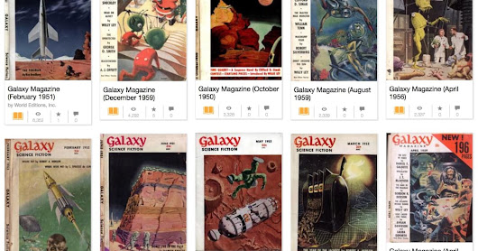 Seminal sci-fi magazine 'Galaxy' is now free online