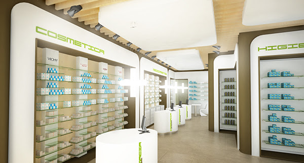 Pharmacy interiors on Behance