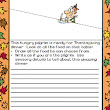 Thanksgiving Writing: Draw a Little, Write a Little FREE SAMPLE