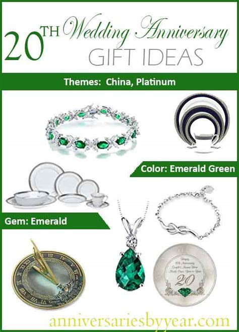 20th Year Anniversary   20th Anniversary Gifts