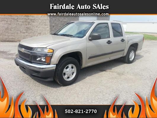 Used 2004 Chevrolet Colorado for Sale in Louisville KY 40214 Fairdale Auto Sales