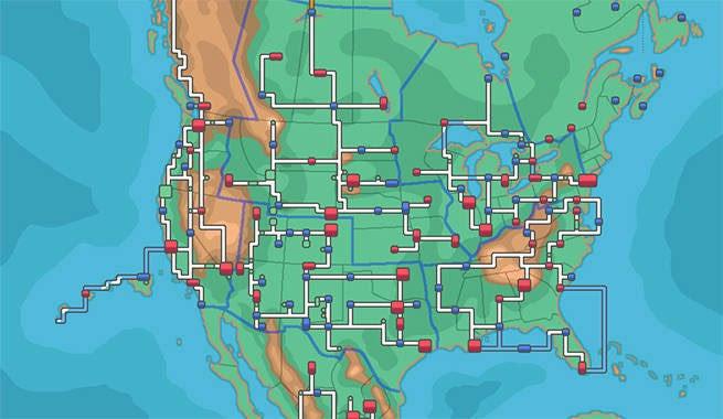 Pokemon Regions Map All Regions In each region for pokemon