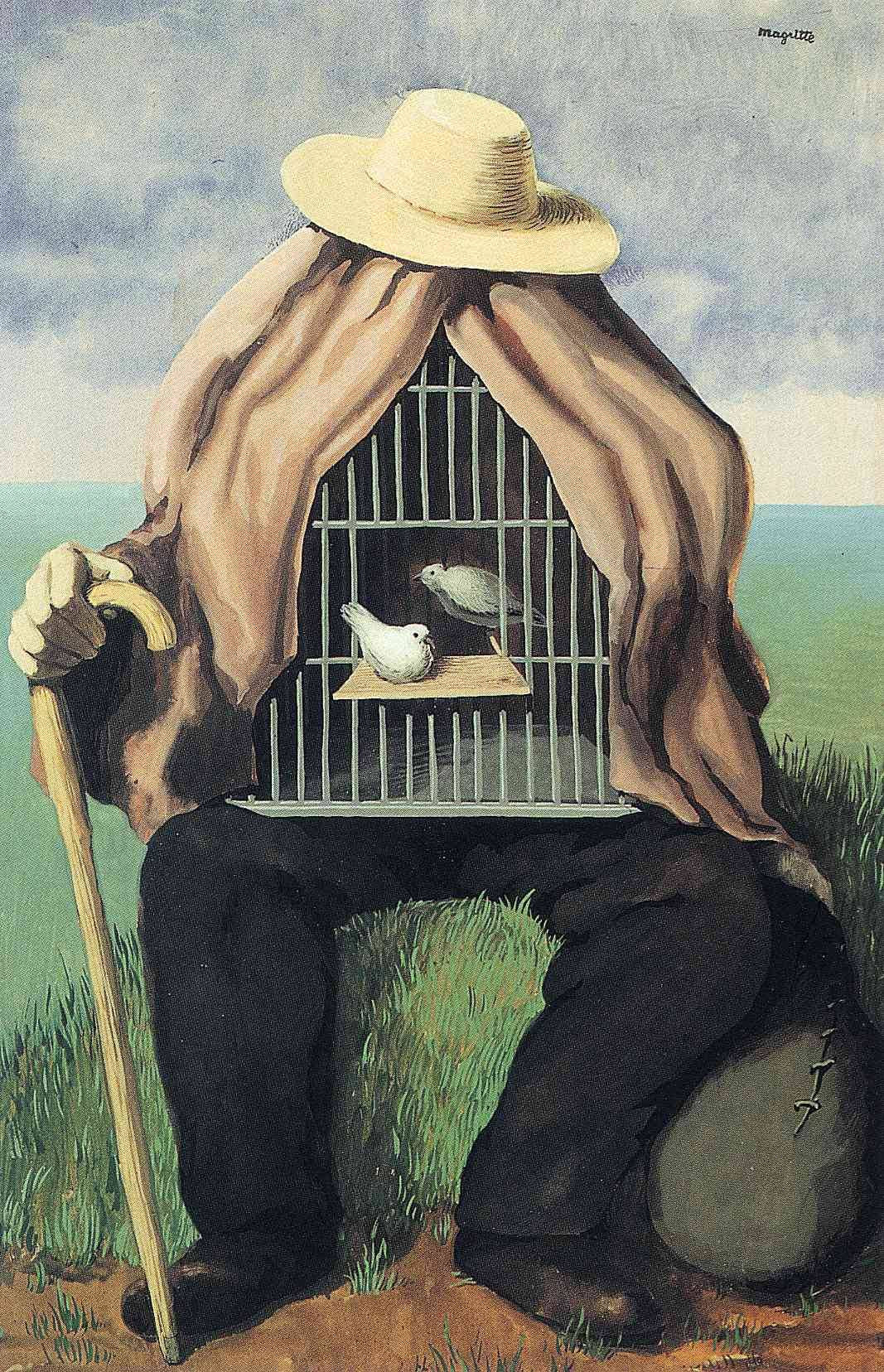 The therapeutist Rene Magritte