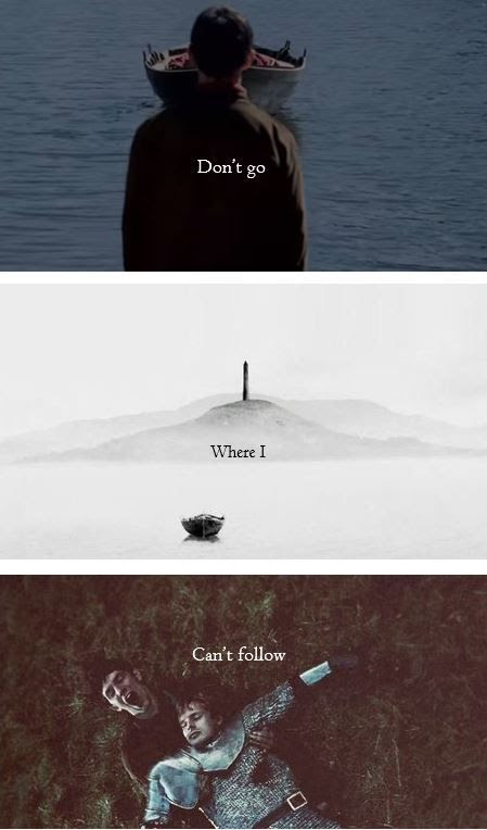 Don't go where I can't follow. | Merlin | Pinterest