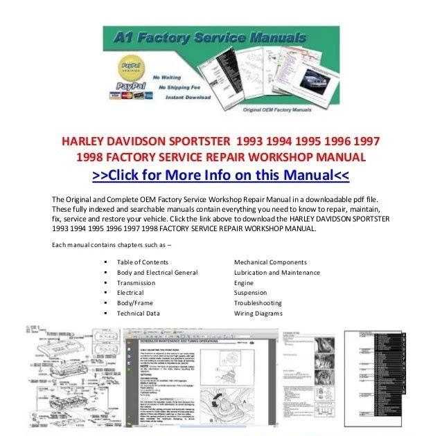 1997 Sportster Wiring Diagram