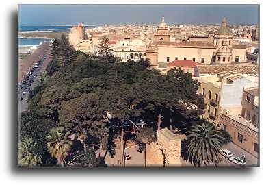 The town of Mazara del Vallo
