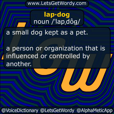 lapdog 01/08/2018 GFX Definition