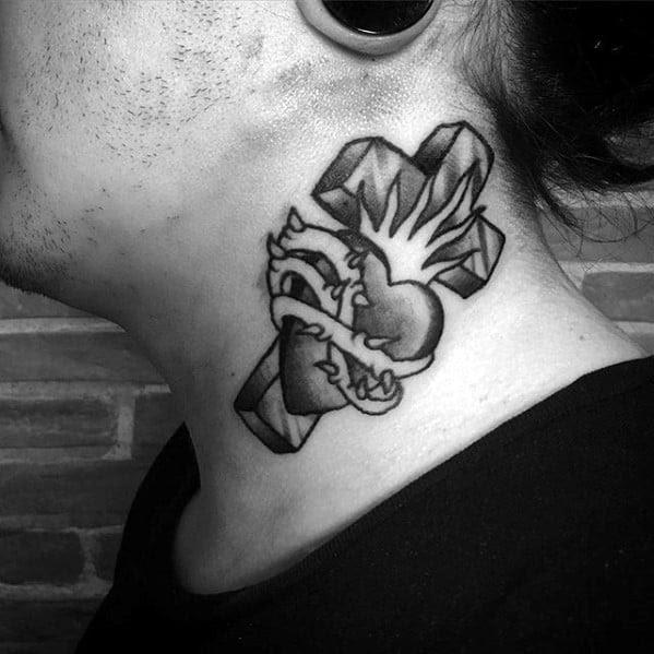 40 Simple Christian Tattoos For Men - Faith Design Ideas