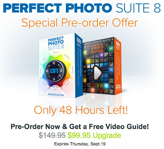 48 hours left on Perfect Photo Suite 8 pre-order with special offer - Beyond the Lens
