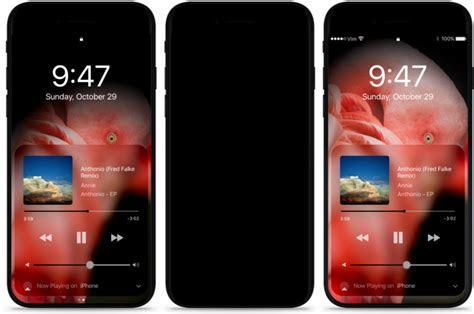 concept bezel  iphone   wraparound amoled screen