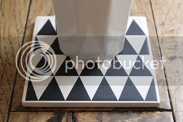 Black Triangle Coasters
