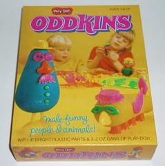 Play-doh Oddkins