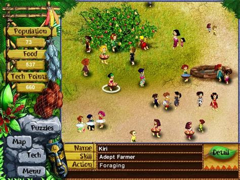 game  anak perempuan virtual villagers   home