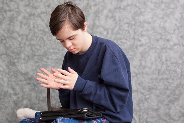 Remaja autis,ilustrasi