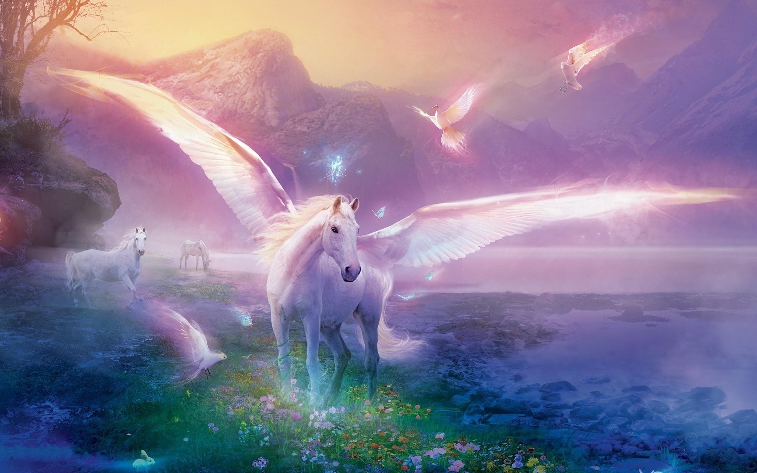 Wallpaper Hd Unicorn
