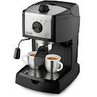 DeLonghi 15-Bar Pump Espresso and Cappuccino Maker - Black/Silver