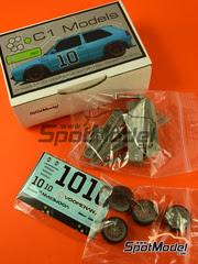 C1 Models: Transkit escala 1/24 - Volkswagen Golf Mk2 Voomeran Nº 10 - resinas, calcas - para kit de Revell REV07005