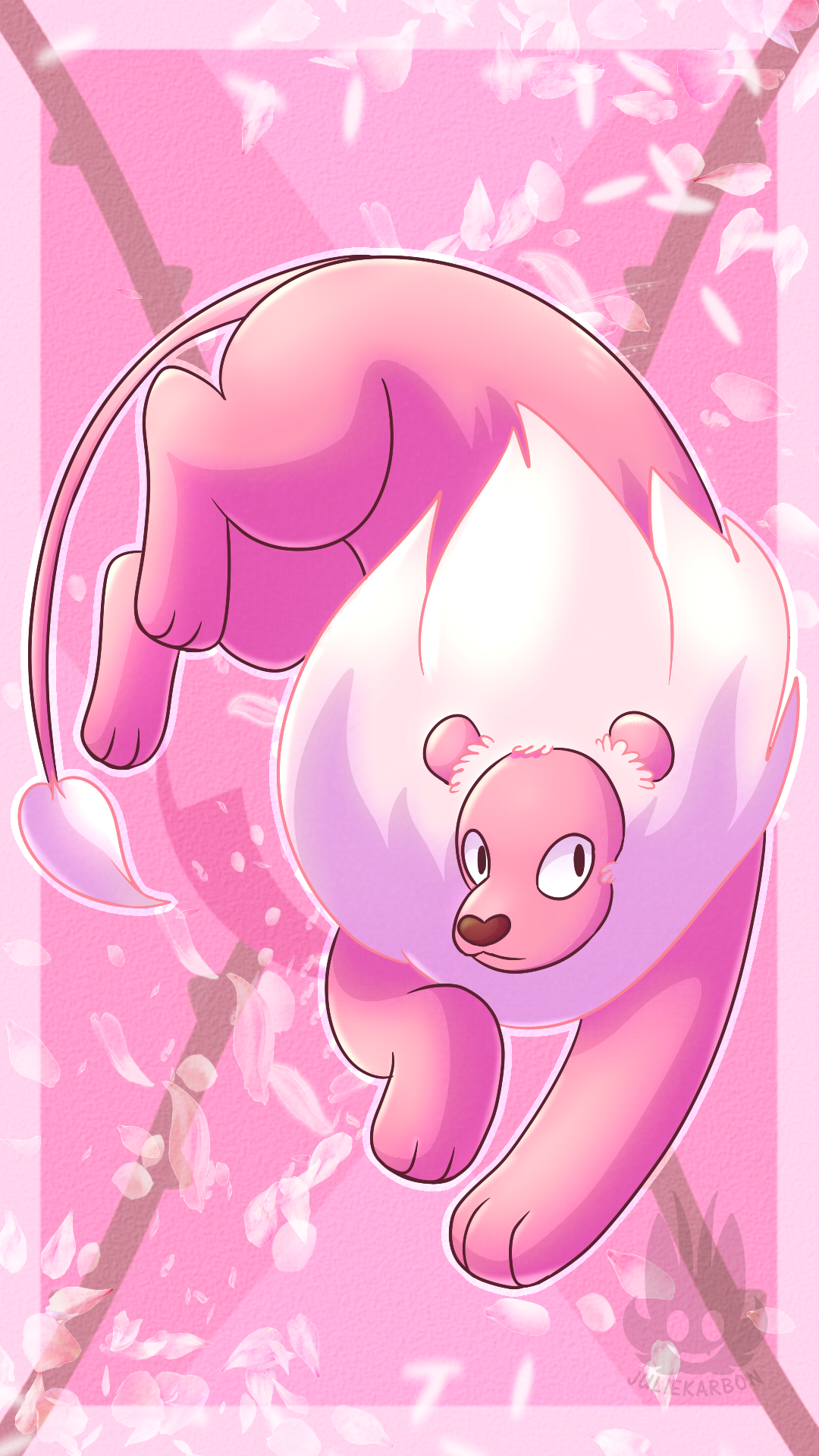 Android Wallpaper commission featuring Lion from Steven Universe!