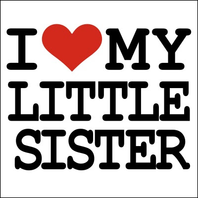 I Love My Little Sister T Shirt