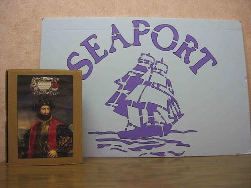 Vasco da Gama visits Seaport Yarn