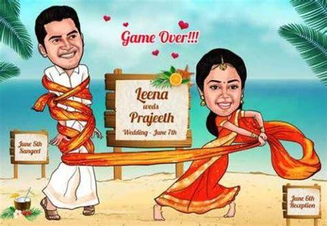 Creative, Fun and Unique Indian Wedding Invitation Card