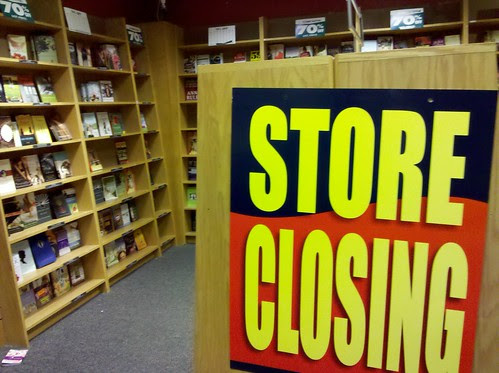Carrion Comfort: Borders Books out of business sale