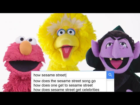 The Cast of Sesame Street Answers the Most Searched Questions About the Show