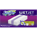 Swiffer Wet Jet Mopping Pads - 15 count