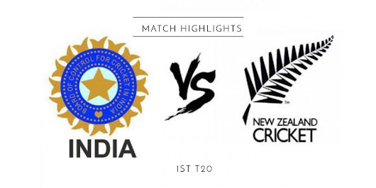 Highlights of India vs New Zealand 1st T20 - Be Curious