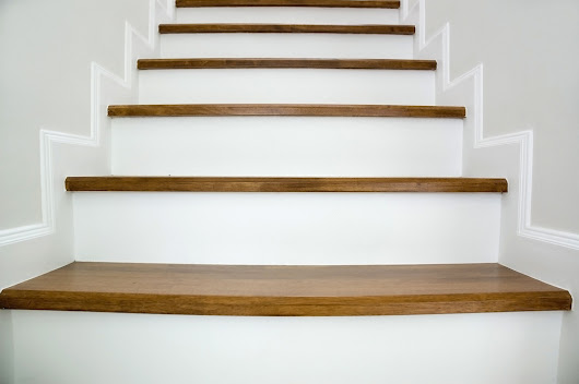 Installation of Oak Flooring on a Staircase