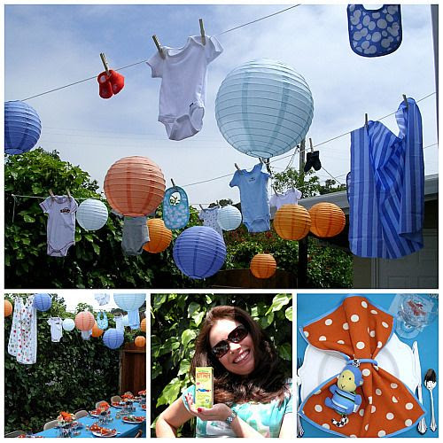 Baby Shower Lantern Decorations
