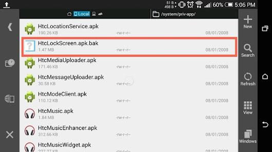 How to Activate the Hidden AOSP Lock Screen on Your HTC One M8