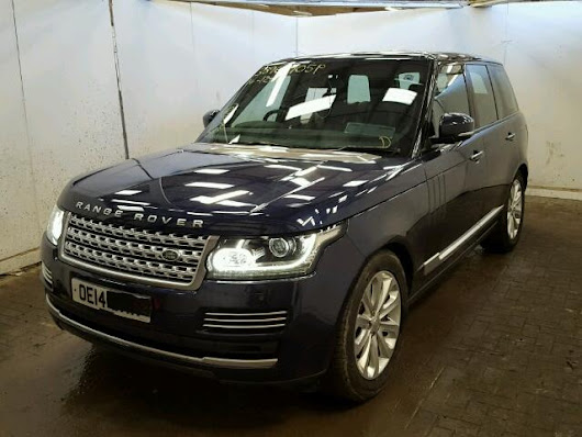 2014 LAND ROVER RANGE ROVE for sale at Copart UK - Salvage Car Auctions