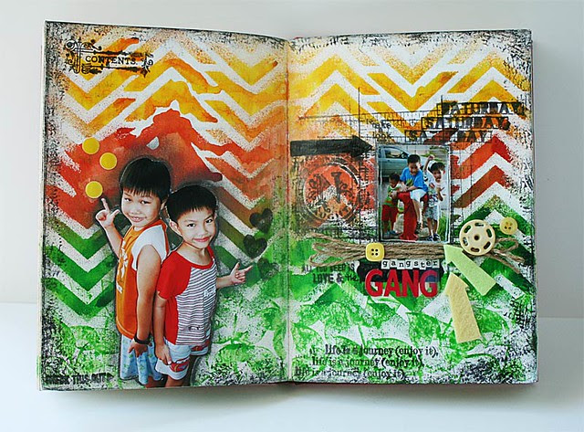 Gangster-gang-journal-page