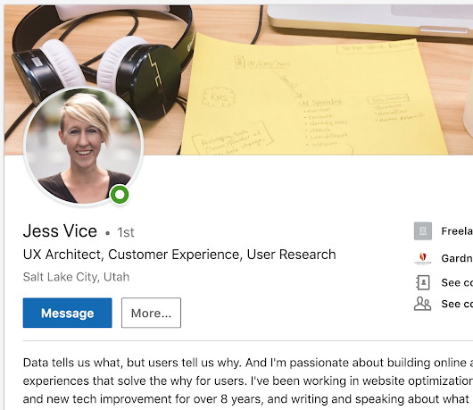 Optimizing LinkedIn to Boost Your UX Career | UX Booth