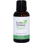 LuckyAromas 100 Pure Essential Oil Eucalyptus 1 fl oz