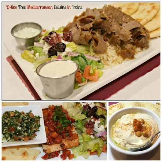 Delicacies Abound at O-live Tree Mediterranean Cuisine in Irvine - SoCal Field Trips