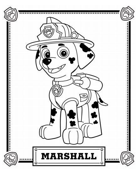 Paw Patrol Coloring Pages Pdf at GetColorings.com | Free ...